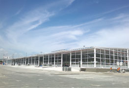 Free Trade Zone warehouse under construction - CEA Project Logistics