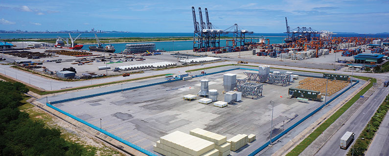 CEA Project Logistics free trade zone laem chabang port
