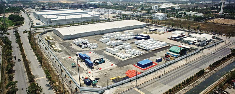 storage and handling service facility free trade zone one - laem chabang thailand - CEA Project Logistics