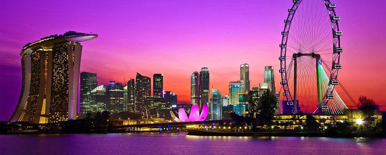 Skyline photo of Singapore
