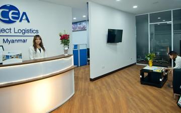 CEA Project Logistics Myanmar - head office yangon