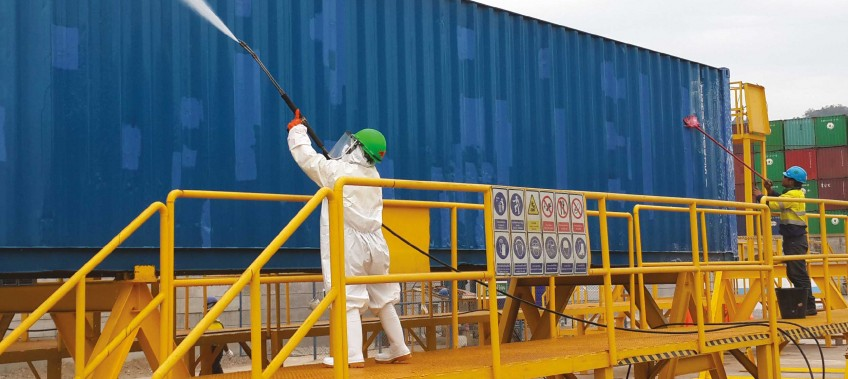 CEA Project Logistic - Cleaning and Quarantine