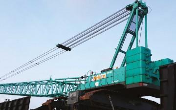 crane-demobilization