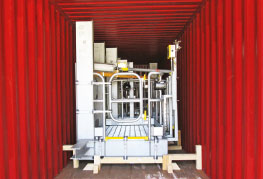container stuffed with cargo CEA Project Logistics