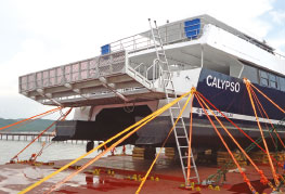 CEA Project Logistics Specialized Lifting 2 - lashed on deck