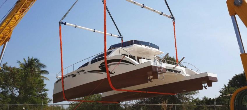 Dual Penetrator Catamaran Transportation & Launch - CEA Project Logistics