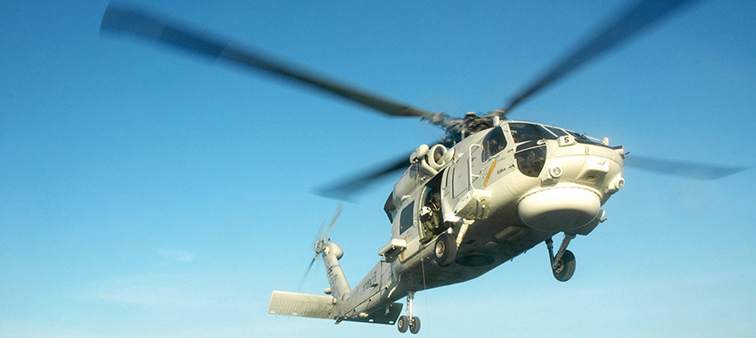 CEA Project Logistics - Seahawk Helicopter Transportation