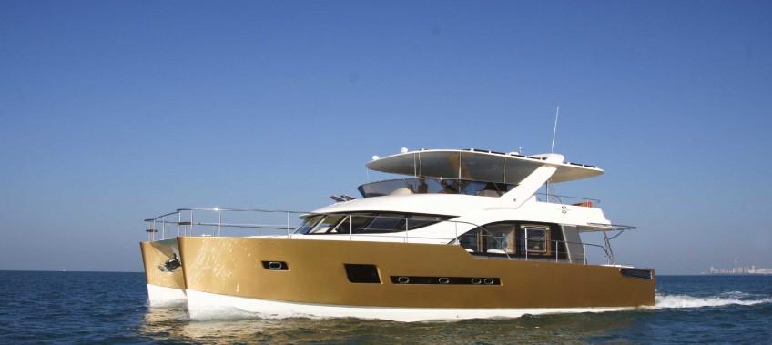 CEA Project Logistics - Heliotrope 65 Catamaran Transport and Launch