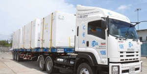 Shrink Wrapping Services - CEA Project Logistics - Cargo wrapped and transported