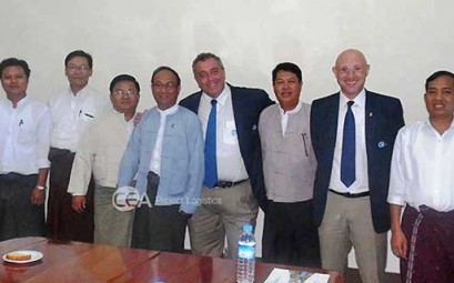 CEA Project Logistics Managers in myanmar with customers