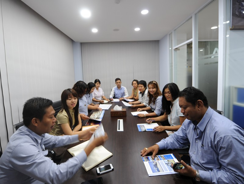 Conference room Inside photo of CEA Project Logistics Myanmar Yangon Office