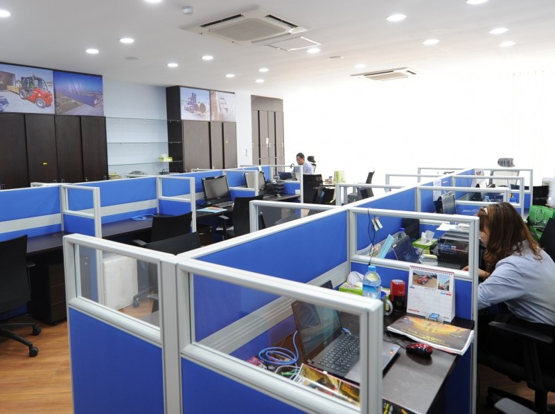 Inside photo of CEA Project Logistics Myanmar Yangon Office