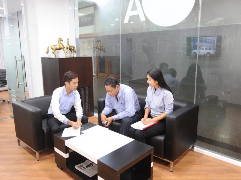 Inside photo of CEA Project Logistics Myanmar Yangon Office