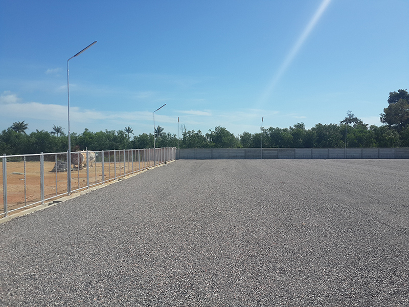 CEA Project Logistics Songkhla Yard fence and wall image