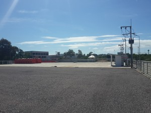 CEA Project Logistics Songkhla Yard swire containers in yard