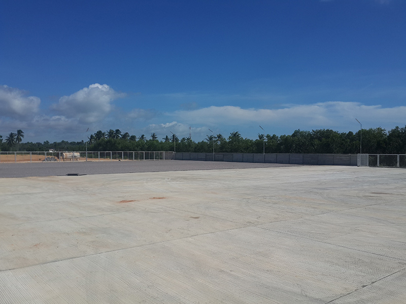 CEA Project Logistics Songkhla Yard main yard view 6400 m2