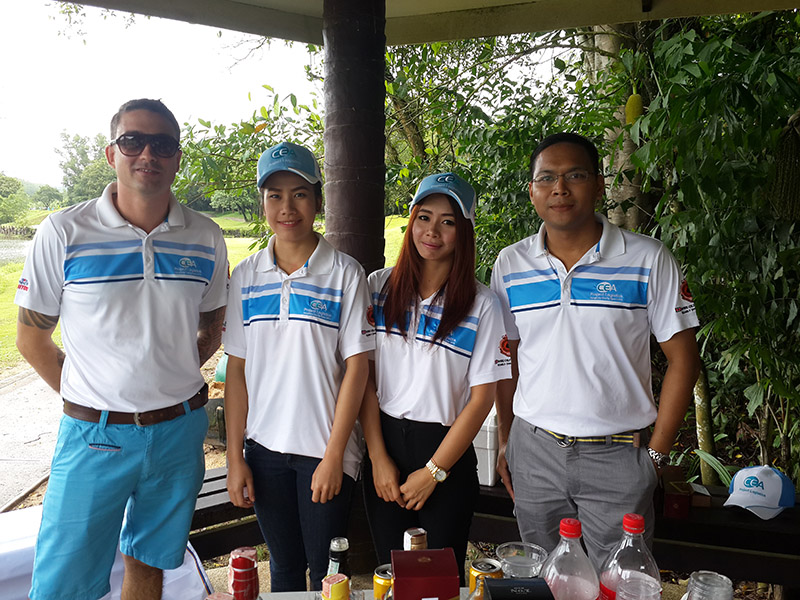 CEA Project Logistics Songkhla staff Golf Event photo