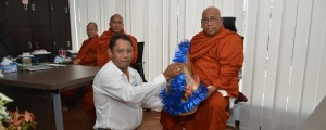 CEA Project Logistics Myanmar office Monks Blessing