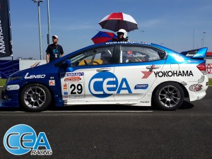 CEA Racing - TR Motorsport Chang international circuit