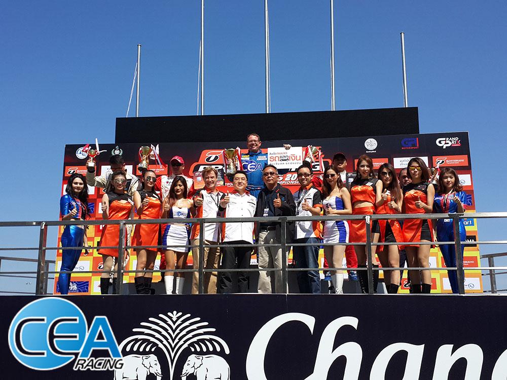 CEA Racing - TR Motorsport Chang international circuit