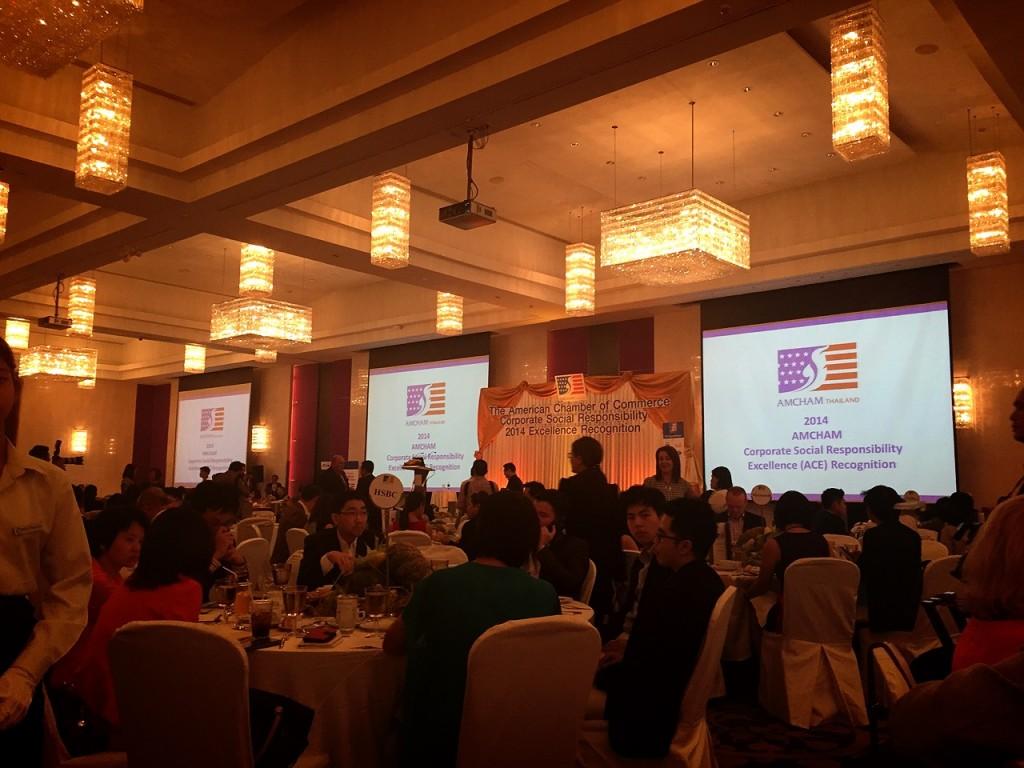CEA Project Logistics win CSR Award Dinner photo