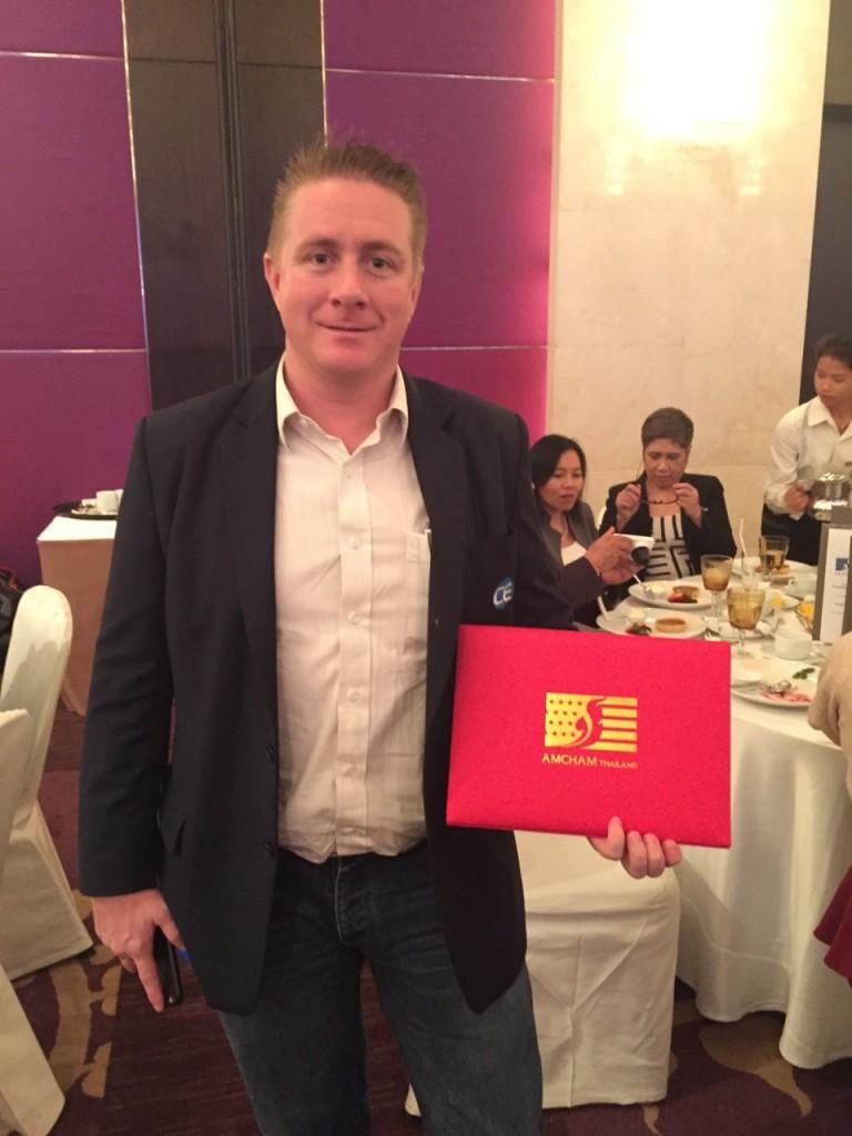 CEA Project Logistics win CSR Award presented to staff