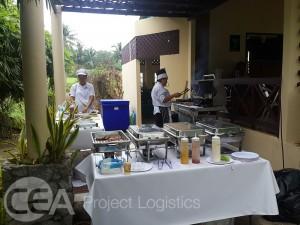 BBQ provided for all golfers
