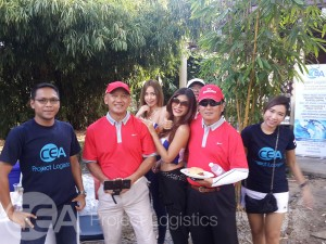 CEA Staff and Golfers