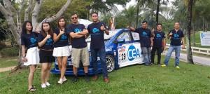 CEA Project Logistics Staff Pose for a photo
