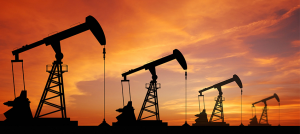 stock photo of oilwell