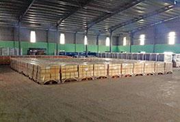 Cargo stored in CEA Myanmar warehouse