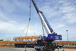 CEA Project Logistics - Fleet & Equipment - mobile crane
