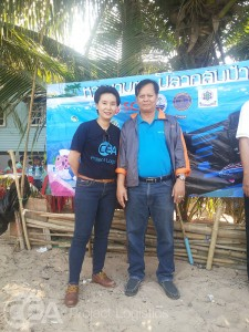 CEA Project Logistics CSR activity with office manager
