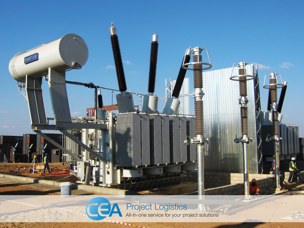 completed and operational power generator CEA Myanmar