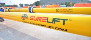 Two CEA Surelift Spreader Beams