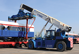 CEA Project Logistics Technical Lifting - CEA Reach Stacker