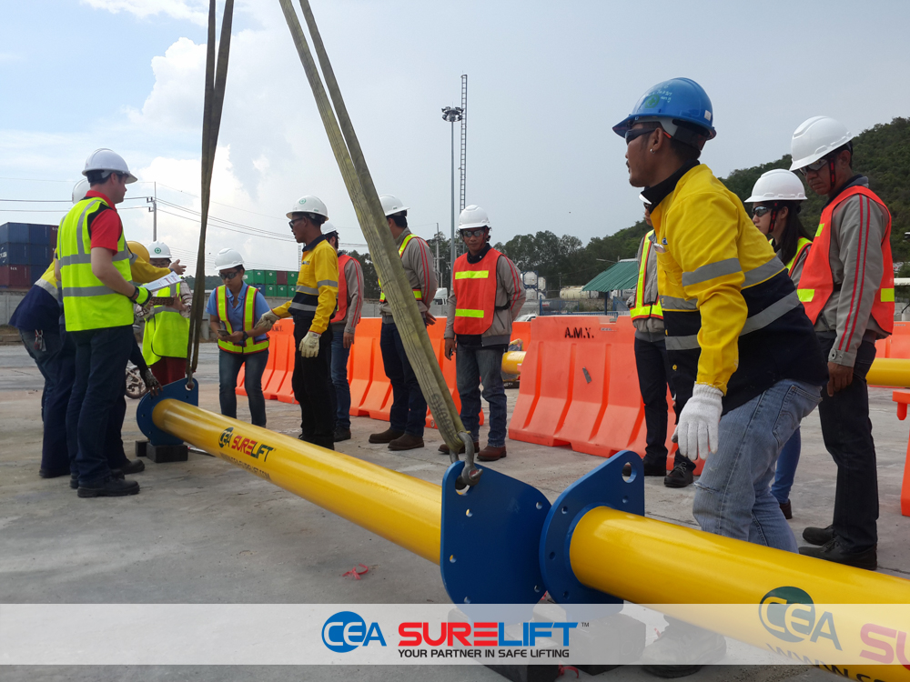 CEA Surelift Spreader Beam training