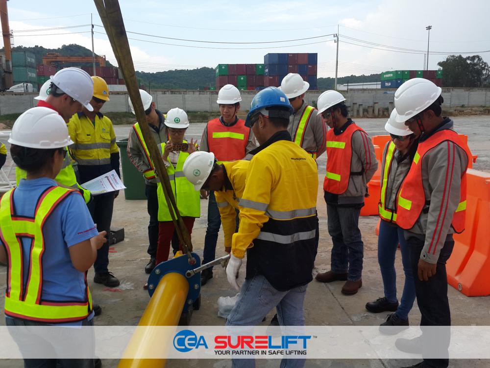 CEA Surelift Spreader Beam training