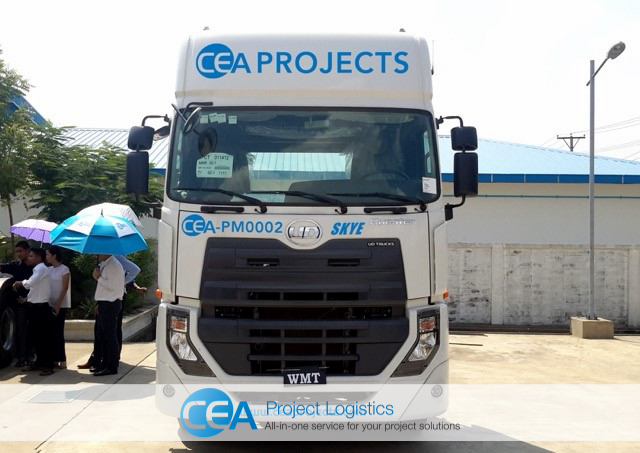 Front on image of CEA UD Quester Truck