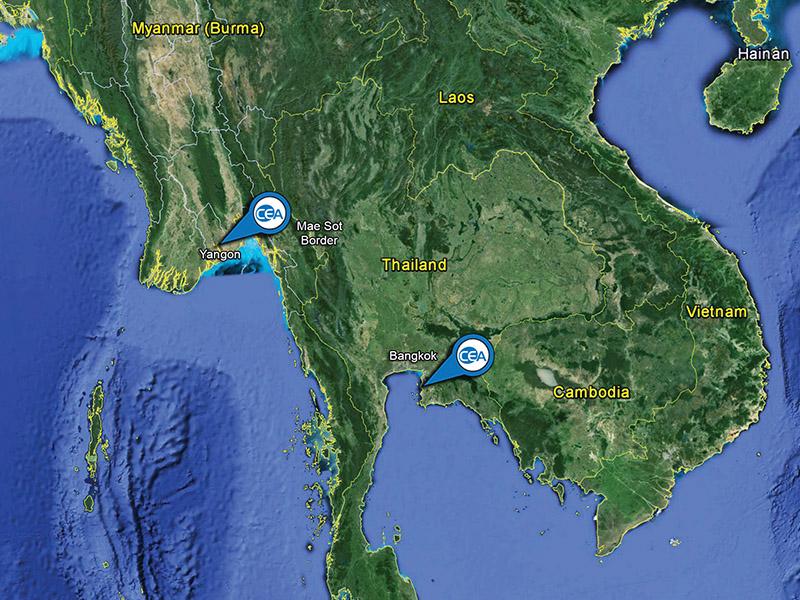 CEA Project Logistics - Cross-Border Transportation