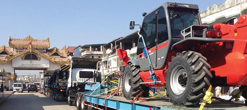 CEA Project Logistics - Cross-Border Transportation Mae Sod