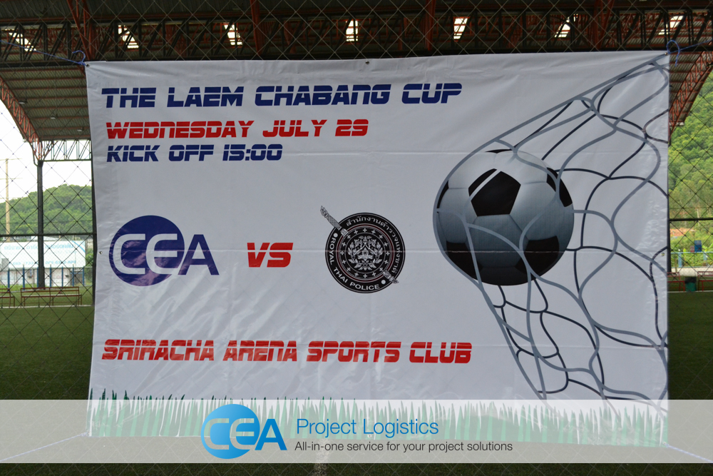 CEA Project Logistics - Football match with Chonburi Police