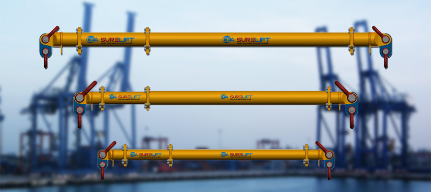 The new CEA Surelift beams displayed Sl 12 , SL 24, SL 34