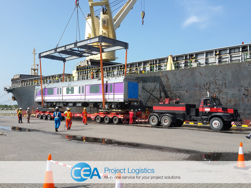 CEA Project Logistics Purple Line Transportation