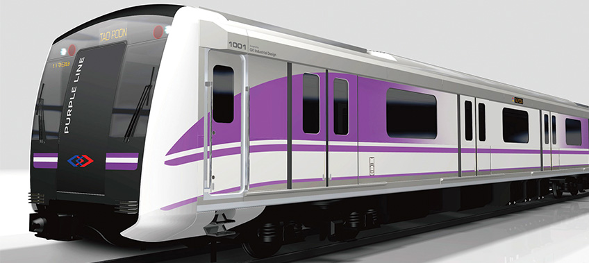 BTS purple line Transportation project