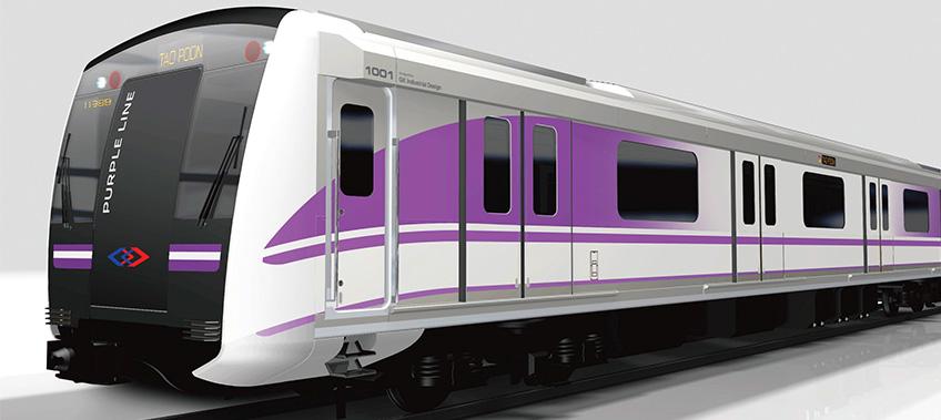 BTS purple line Transportation project