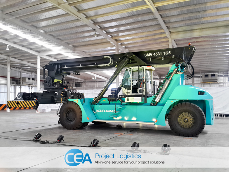 CEA Project Logistics Free Trade Zone Warehouse - Konecranes Generation C