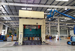 CEA Project Logistics Metal Press Installation complete