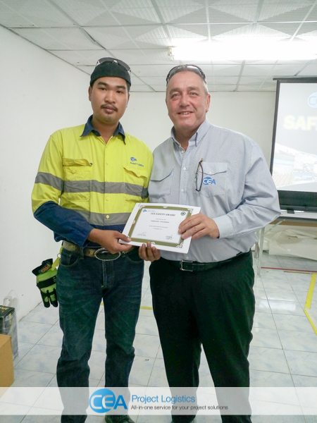 Health & Safety Awards for CEA Employees