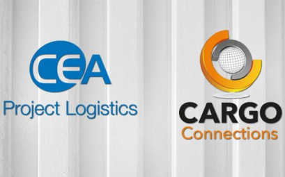 CEA and cargo connections logos
